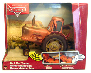 Cars Disney Movie - Tip and Toot Tractor