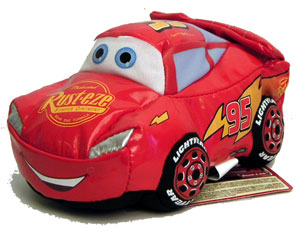 Cars Disney Movie - Lightning McQueen Smash & Yak