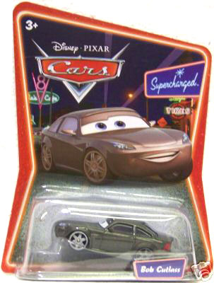 Disney Cars Die-Cast Supercharged: Bob Cutlass