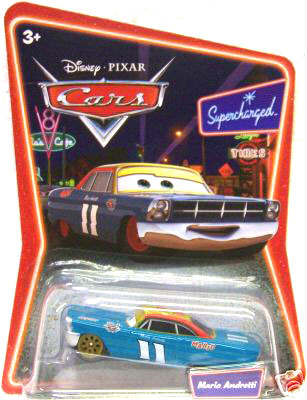 Disney Cars Die-Cast Supercharged: Mario Andretti