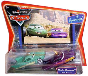 Cars The Movie Die-Cast: Supercharged Flo and Ramone