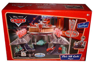 Disney Pixar CARS Supercharged - FLO V8 CAFE Playset