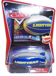 Disney Cars Die-Cast Supercharged: Al Oft The Lightyear Blimp