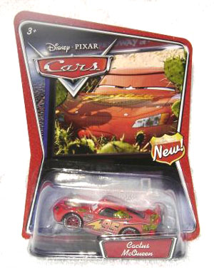 Disney Cars Supercharged - Cactus McQueen