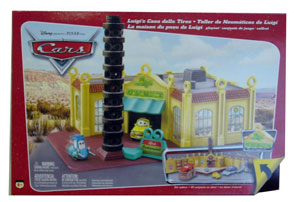 Cars The Movie: Luigi Casa Della Tires Playset