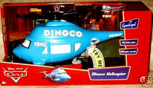 Supercharged Deluxe Dinoco Helicopter
