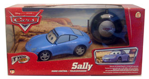 Cars The Movie Die-Cast: Tyco RC Sally