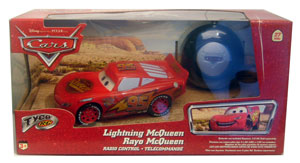 Cars The Movie Die-Cast: Tyco RC Lightning McQueen