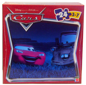 Cars The Movie Puzzle: McQueen And Mater