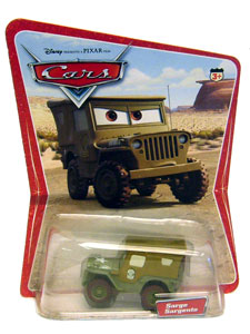 Cars The Movie Die-Cast: Sarge