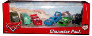 Cars The Movie Die-Cast: Character Pack with Lightning McQueen