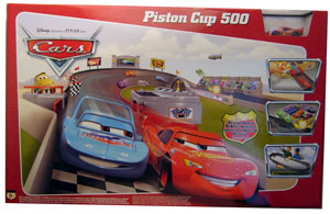 Cars The Movie: Piston Cup 500 - BACKORDER MAY TAKE 3 WEEKS BEFORE SHIPPING