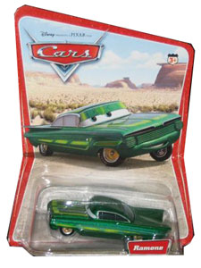 Cars The Movie Die-Cast: Green Ramone