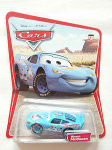 Cars The Movie Die-Cast: Dinoco McQueen