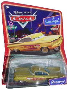 Cars The Movie Die-Cast: Supercharged Yellow Ramone