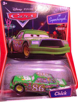 Cars The Movie Supercharged Die-Cast: Chick Hicks