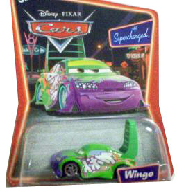 Cars The Movie Supercharged Die-Cast: Wingo