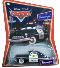 Cars The Movie Supercharged Die-Cast: Sheriff