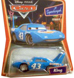 Cars The Movie Supercharged Die-Cast: King
