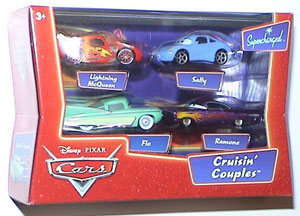 Cars The Movie Supercharged Die-Cast: Radiator Springs Cruisin Couples