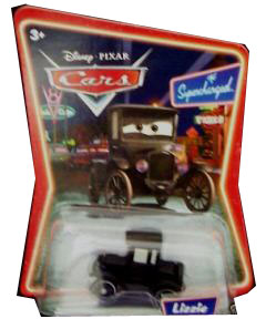 Cars The Movie Die-Cast: Supercharged Lizzie