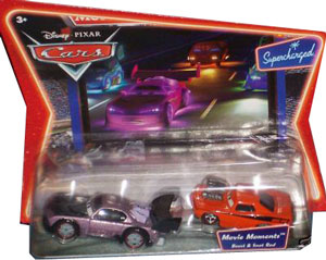 Cars The Movie Die-Cast: Supercharged Boost and Snot Rod