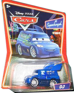 Cars The Movie Die-Cast: Supercharged DJ