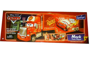 Cars The Movie Supercharged: Mack Truck Playset