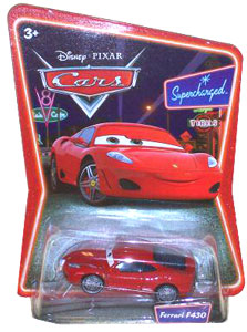 Cars The Movie Die-Cast: Supercharged Ferrari F430