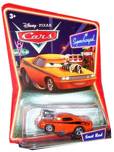 Cars The Movie Die-Cast: Supercharged Snot Rod