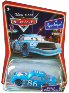 Cars The Movie Die-Cast: Supercharged Dinoco Chick Hicks