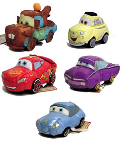 Cars Disney Movie - Smash & Yak Set of 5
