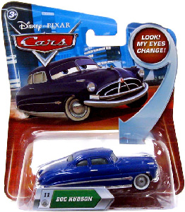 Cars Lenticular Eyes 2 - Doc Hudson
