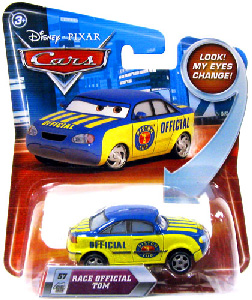 Cars Lenticular Eyes 2 - Race Official Tom