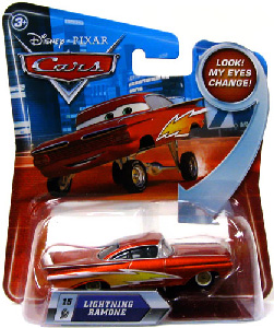 Cars Lenticular Eyes 2 - Lightning Ramone