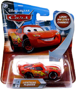 Cars Lenticular Eyes 2 - Lightning McQueen