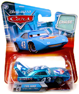 Cars Lenticular Eyes 2 - Chase Metallic Finish The King
