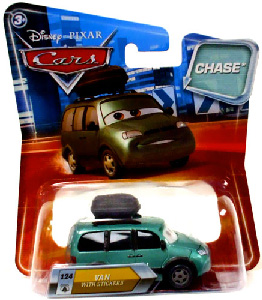 Cars Lenticular Eyes 2 - Van with Stickers CHASE