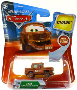 Cars Lenticular Eyes 2 - Fred with Fallen Bumper CHASE