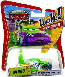 Cars Lenticular Eyes - Wingo