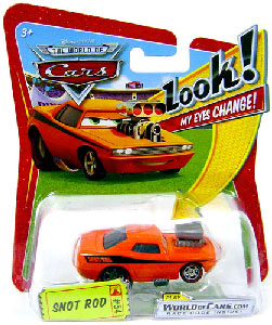 Cars Lenticular Eyes - Snot Rod