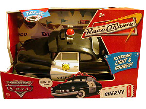 Disney Cars Deluxe Lights and Sounds Sheriff
