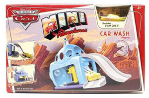 Cars Mini Adventure - Car Wash Playset