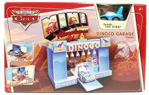 Cars Mini Adventure - Dinoco Garage Playset