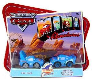 Cars Mini Adventures - Team Dinoco - The King and Dinoco Lightning McQueen
