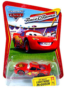 Race O Rama - Bug Mouth Lightning McQueen