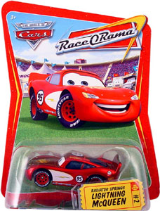 Race O Rama - Radiator Springs Lightning McQueen