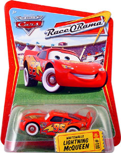 Race O Rama - Whitewalls Lightning McQueen