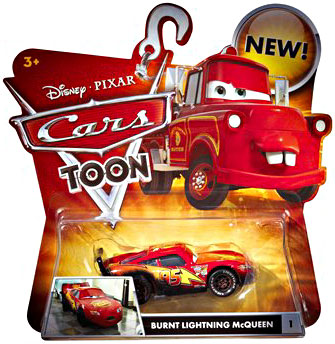 Cars Toon - Burnt Lightning McQueen