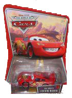 Disney Pixar World of Cars - Bug Mouth McQueen